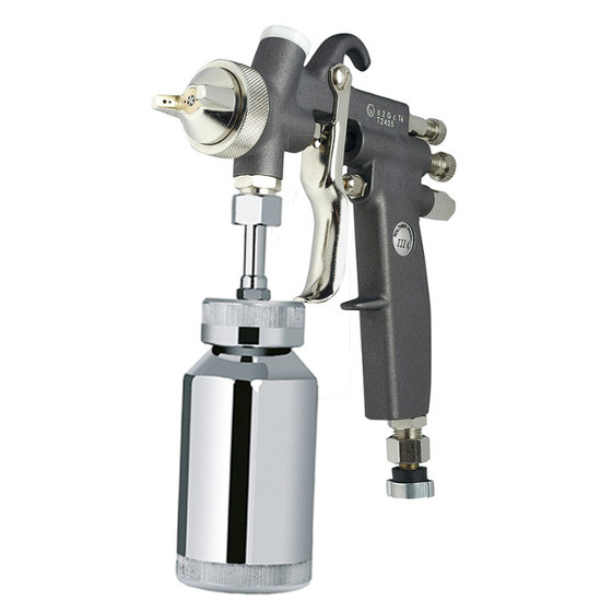 Manual spray gun Walther Pilot III K Rotary jet round/wide, with
